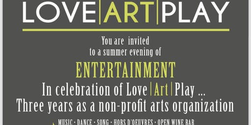 Celebrate LoveArtPlay - 3 Years as a Non-Profit Organization