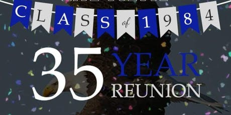 GWHS Class of '84 35th Reunion tickets