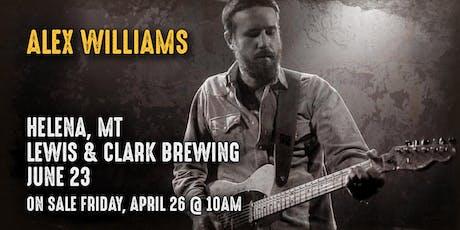 Alex Williams - Live in Concert tickets