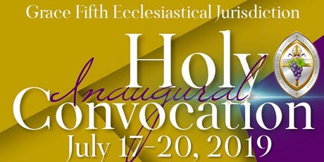 Grace 5th Jurisdiction VA Holy Convocation tickets