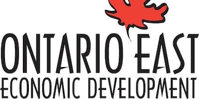 Ontario East Economic Development Quarterly Meeting & Networking Event
