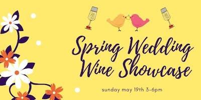 Spring Wedding Wine Showcase