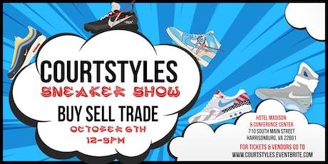CourtStyles Sneaker Show - Harrisonburg - October 6th, 2019 tickets