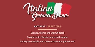 Italian Gourmet Dinner Pop-Up - 4 courses of delicious Tuscan cuisine!