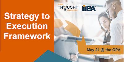 May Meeting | IIBA Strategy to Execution Framework