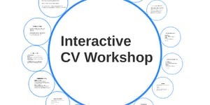 Job & Education Consulting, CV Workshop Seminar (in...