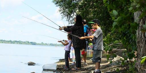Pêche en famille