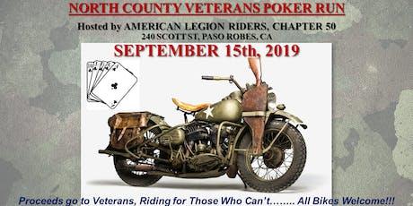 North County Veterans Poker Run tickets