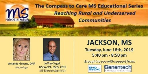 MULTIPLE SCLEROSIS Event in Jackson, MS: The Compass to Care