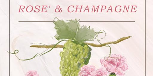 Pour in the Alley presents Rose' & Champagne