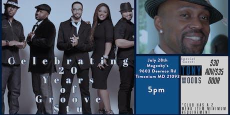 Groove Stu 20th Anniversary Concert w/Tony Woods tickets