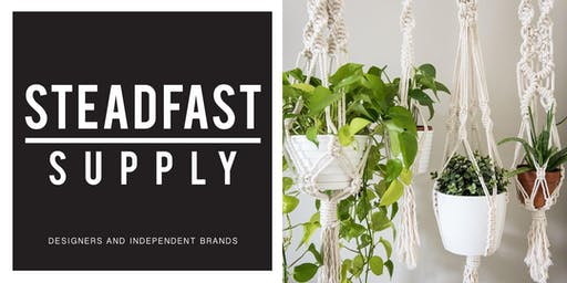 DIY Workshop | Macrame Plant Hangers | Hosted by Lillith Plant Shop