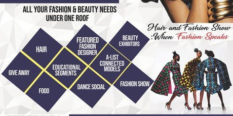 2nd Annual Hair and Fashion Expo tickets