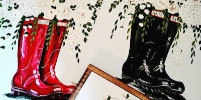 Hunter Boots Bouquet