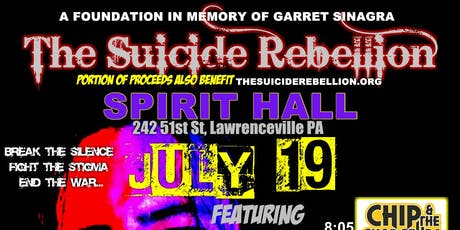 The Whisky Rebellion Benefit Concert in Honor of Garret Sinagra tickets
