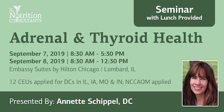Adrenal & Thyroid Health: Balancing Mood, Sleep & Energy (Chicagoland) tickets
