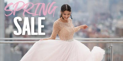 Spring Bridal Sale!