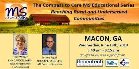 MULTIPLE SCLEROSIS Event in Macon, GA: The Compass to Care tickets