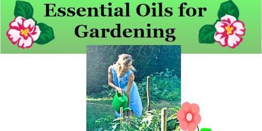 Essential Oils for Gardening Workshop