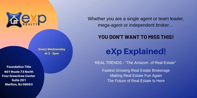 SJ eXp Realty Explained   Lunch and Learn