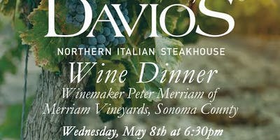 Peter Merriam Wine Dinner at Davio's King of Prussia