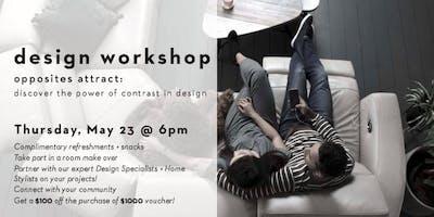 Design Workshop: Opposites Attract