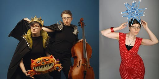 The Doubleclicks and Helen Arney - evening shows