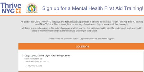 Mental Health First Aid Training! tickets