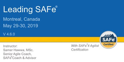 Leading SAFe® 4.6 Certification Training in Montreal, Canada
