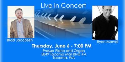 Brad Jacobsen and Ryan Marvel LIVE in Concert