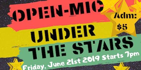 Open Mic Under The Stars tickets