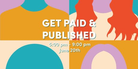 Get Paid + Published Workshop tickets