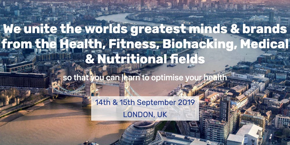 Health Optimisation Summit Tickets, Sat 14 Sep 2019 at 09:00