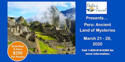 Machu Pichu Group Tour