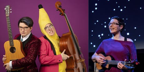 The Doubleclicks and Helen Arney - afternoon family show tickets