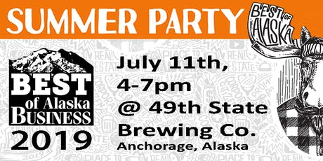 Best of Alaska Business 2019 Summer Party  tickets