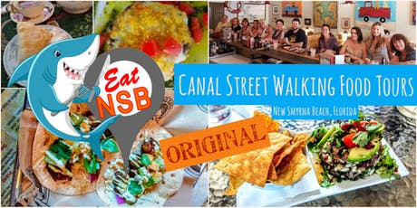 Eat NSB Canal Street Walking Food Tour tickets