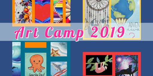 Art Camp ages 5-9