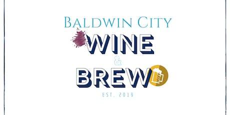 Wine & Brew tickets