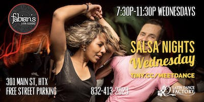 Free Tropical Salsa Wednesday Social @ Fabian's Latin Flavors