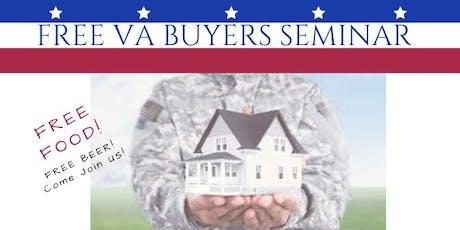 Free VA Homebuying Seminar Taught by Veterans!  Free Dinner! tickets