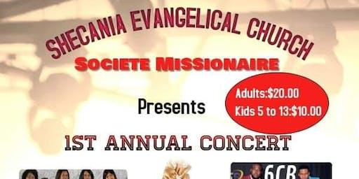 Societe Missionaire 1 St ANNUAL CONCERT
