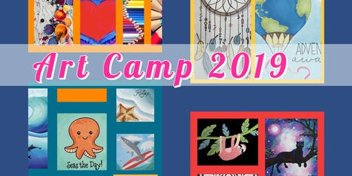 Art Camp ages 10-15