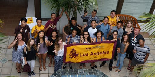 LA - Manhattan Beach: ASU Sun Devil Send-Off