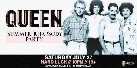 Queen: Summer Rhapsody Party tickets
