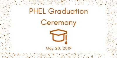 2019 PHEL Graduation Ceremony
