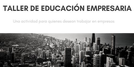Taller de Educación Empresaria a distancia