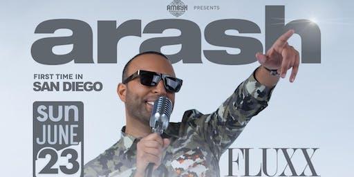 Arash Live in San Diego