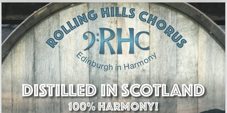 DISTILLED IN SCOTLAND - 100% HARMONY! tickets