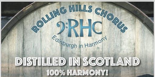 DISTILLED IN SCOTLAND - 100% HARMONY!